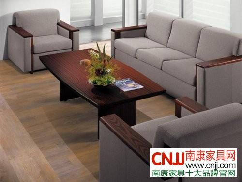 客厅沙发摆放效果图 精致布艺沙发