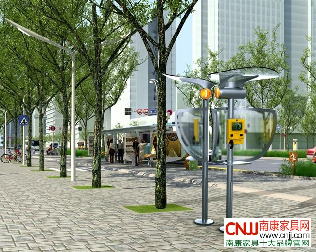 公共设施设计中的运用