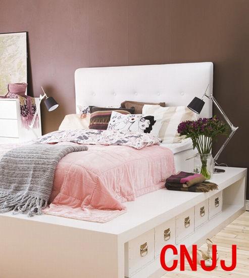 设计重点:床架收纳柜(收纳柜装修效果图)